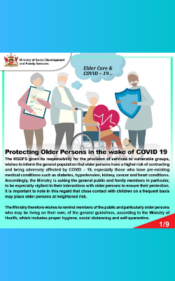 COVID - Protect the Elderly 1